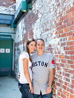 Fenway Park - Boston Gardens Engagement Photography - Lindsey + Keith